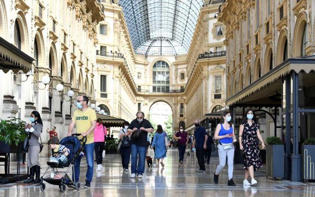 Συνεχίζεται η αύξηση κρουσμάτων στην Ιταλία-552 νέα σε 24 ώρες