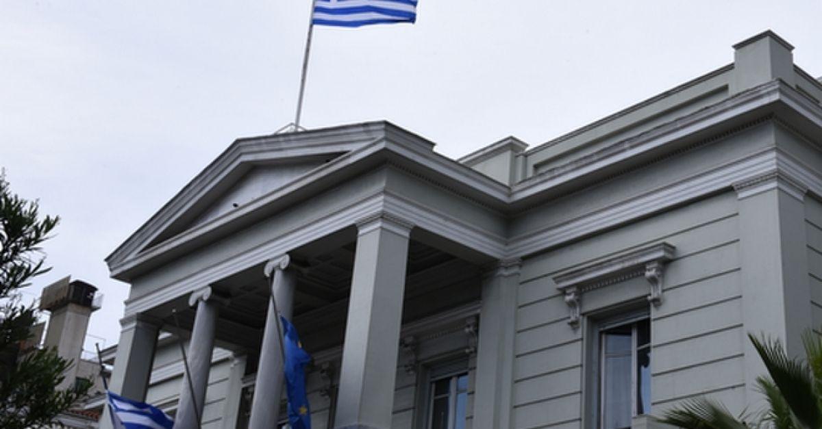 """Υπουργείο Εξωτερικών: """"Η Ελλάδα δεν θα δεχθεί κανέναν εκβιασμό"""""""