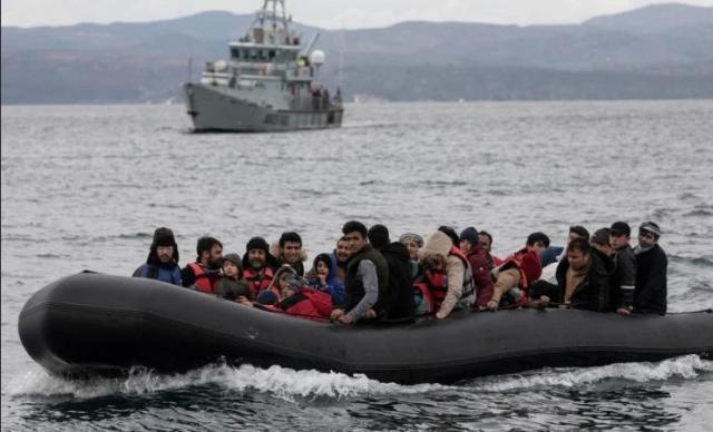 Διάσωση 151 μεταναστών και προσφύγων ανοιτά της Αμοργού