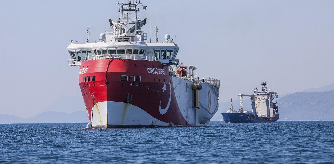 Νέα τουρκική NAVTEX για το Oruc Reis - Στην ελληνική υφαλοκρηπίδα έως τις 12 Σεπτεμβρίου