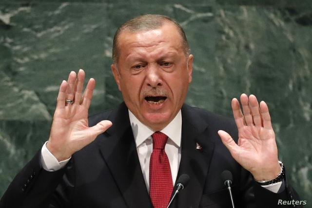 Νέες πολεμικές ιαχές από Ερντογάν
