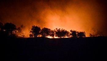 Φωτιά στη Μόρια: Βίντεο - ντοκουμέντο από τη δράση των εμπρηστών στο ΚΥΤ