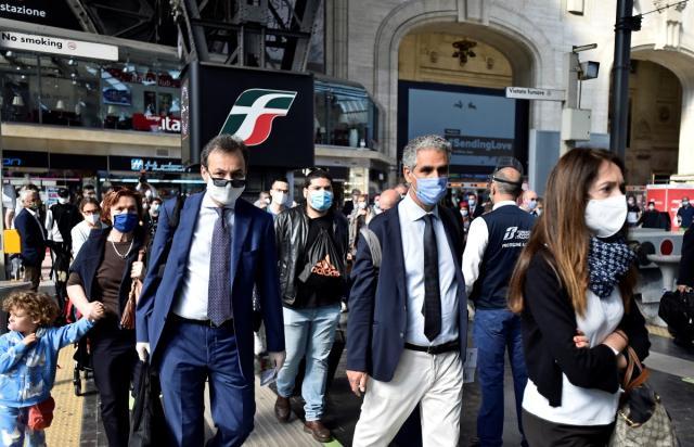 1.434 νέα κρούσματα κορωνοϊού στην Ιταλία και 14 νεκροί το τελευταίο 24ωρο