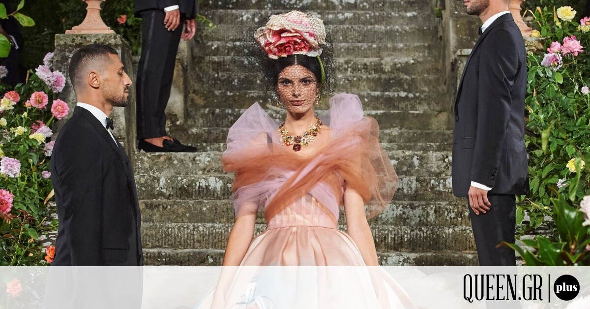 Dolce & Gabbana:Η νέα Haute Couture συλλογή SS21 αποπνέει αέρα Αναγέννησης