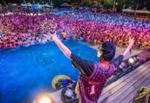 wuhan pool party