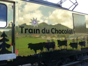 train du chocolat